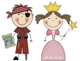 Pirate and Princess Image